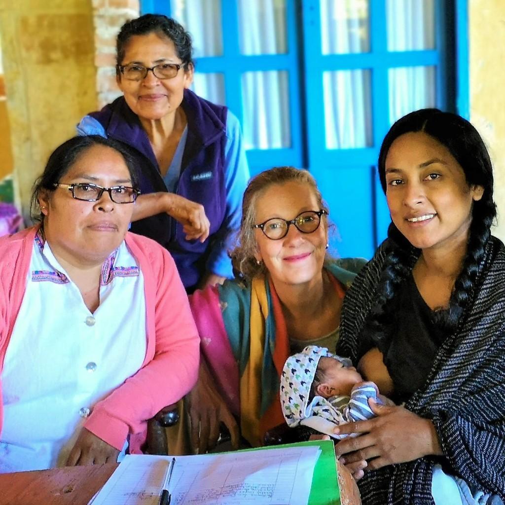 Foto: Christiane Ulrich, Hausbesuch in der Wochenbettzeit bei einer mexikanischen Familie